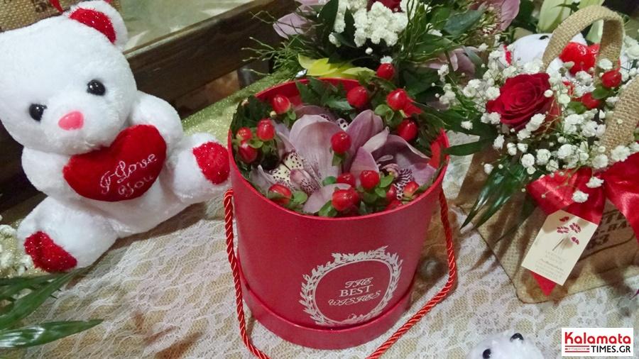 Αποστολή λουλουδιών για το πιο γλυκό «Σ' αγαπώ» από το ανθοπωλείο Μπούνας 2
