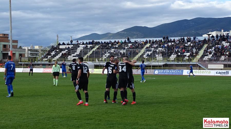 Τελικό Καλαμάτα - Τρίγλια 1-0 νίκη που αφήνει ελπίδες για το μέλλον 4