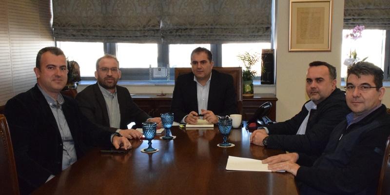 Εκπρόσωποι του Ιατρικού Συλλόγου Μεσσηνίας συναντήθηκαν με τον Δήμαρχο Καλαμάτας 5