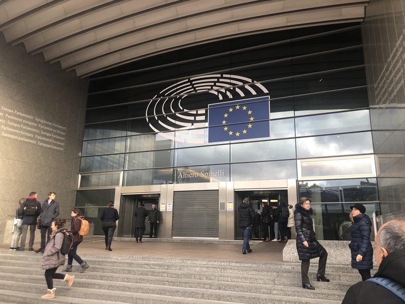 Ο Παναγιώτης Χαλβατσιώτης για τα σπάνια νοσήματα στο Ευρωπαϊκό Κοινοβούλιο στις Βρυξέλλες 4
