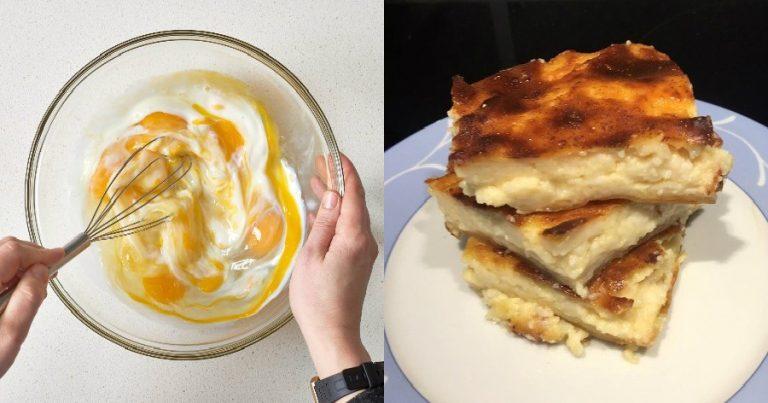 Παραδοσιακή συνταγή για γαλατόπιτα με πορτοκάλι και κανέλα, σε 10 λεπτά 4