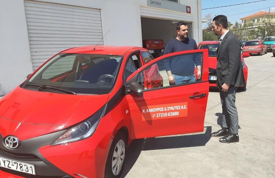 Και ο Δήμος Μεσσήνης παρέλαβε όχημα για τις ανάγκες του προγράμματος «Βοήθεια στο σπίτι» 1