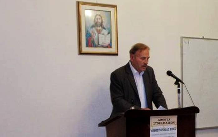 Συλλυπητήρια για τον θάνατο του Θεόδωρου Μπαζίγου από το ΔΣ του Επιμελητηρίου Μεσσηνίας 1