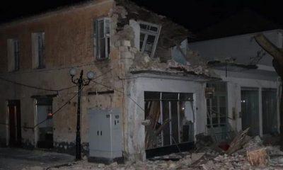 Ισχυρός Σεισμός 5,6 Ρίχτερ στη Πάργα ‑ Γκρεμίστηκαν σπίτια 6
