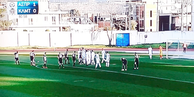 Ο Ασπρόπυργος χωρίς να είναι καλύτερος κέρδισε την Καλαμάτα 1-0 6