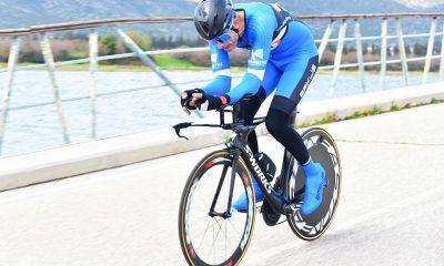 Σταμάτης και Πετρακόπουλος του Ευκλή στον ποδηλατικό αγώνα Zeus - Time Trial 2020 3