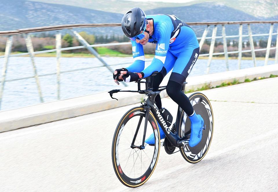 Σταμάτης και Πετρακόπουλος του Ευκλή στον ποδηλατικό αγώνα Zeus - Time Trial 2020 22