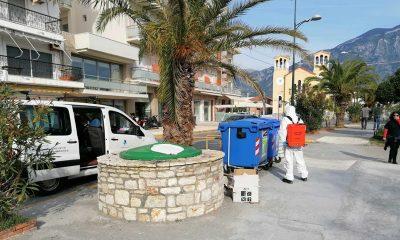 Συνεχίζονται οι απολυμάνσεις δημόσιων χώρων στο Δήμο Καλαμάτας 16