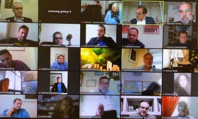 Μέσω τηλεδιάσκεψης η συνεδρίαση του Δημοτικού Συμβουλίου Καλαμάτας 3