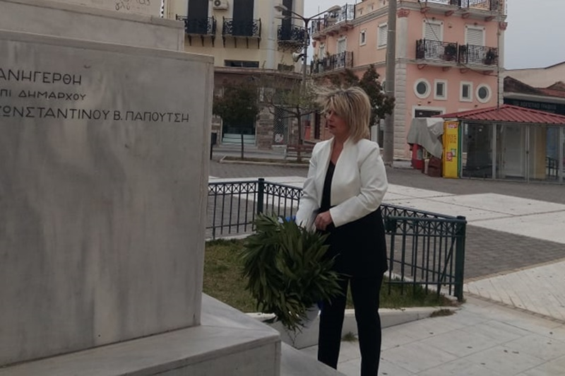 Δήμαρχος Οιχαλίας Παναγιώτα Γεωργακοπούλου