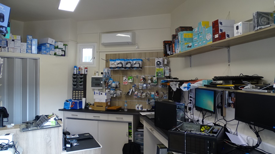 Για επισκευή, service και αναβάθμιση του PC σας... CTRL-IT 43