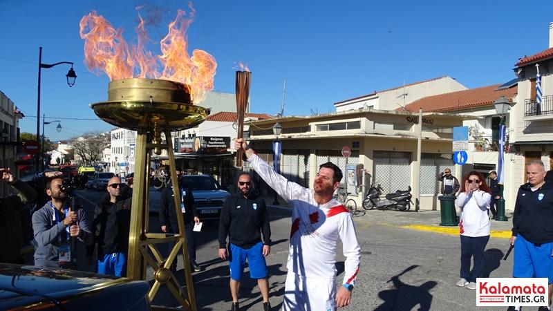 Αναχώρησε η Ολυμπιακή φλόγα από την Καλαμάτα για Σπάρτη 14