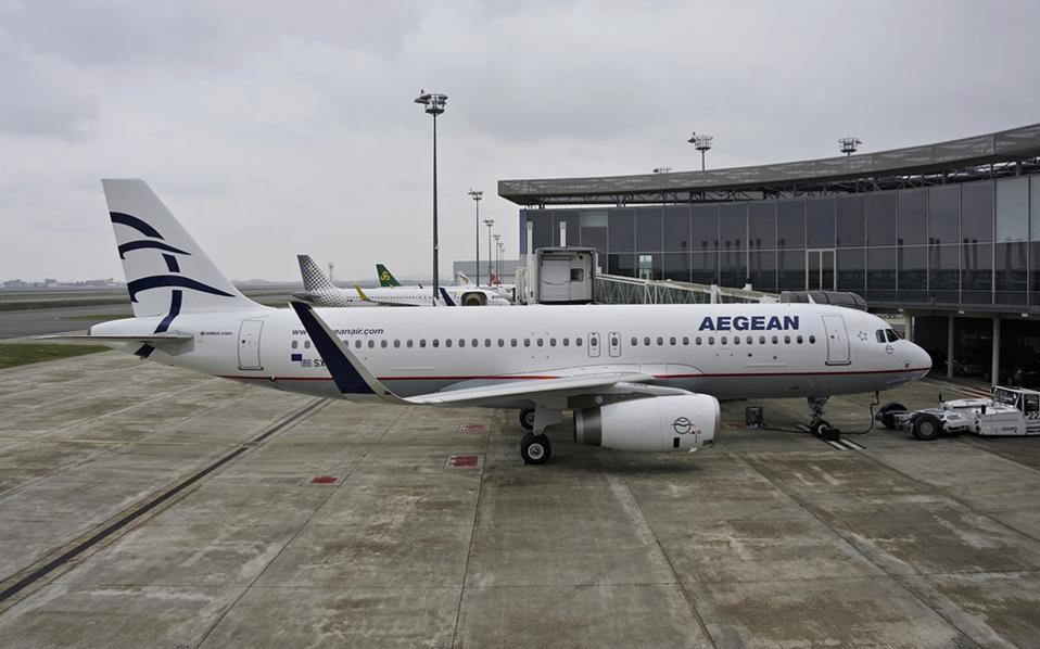 Η AEGEAN προχωρά σε προσωρινή αναστολή των πτήσεων εξωτερικού έως 30/4 12