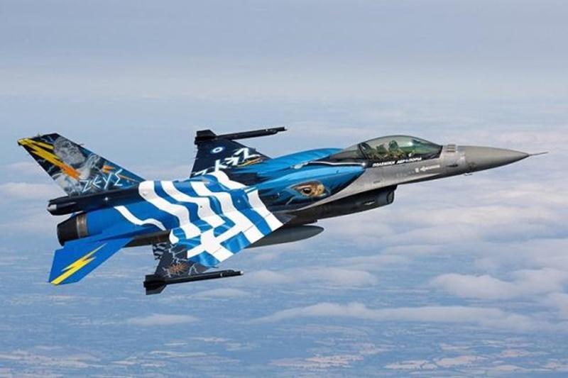 Με διελεύσεις από ζεύγη μαχητικών F-16 φέτος ο εορτασμός της 25ης Μαρτίου 1