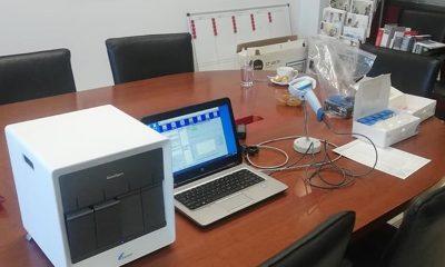 Το Νοσοκομείο Καλαμάτας παρέλαβε το μηχάνημα ταχείας διάγνωσης κορονοϊού 32