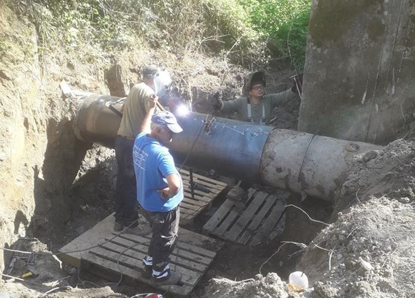 Αναστάτωση και γκρίνια για την 34ωρη διακοπή νερού στην Καλαμάτα 1