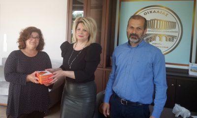 Ο Δήμος Οιχαλίας παρέδωσε τα tablet