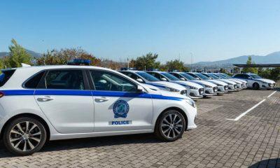 Δωρεά τριών οχημάτων στην Ελληνική Αστυνομία από την εταιρία Goldair 1