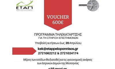 Επίδομα 600 ευρώ για voucher τηλεκατάρτισης από την ΕΤΑΠ του Επιμελητηρίου Μεσσηνίας 19