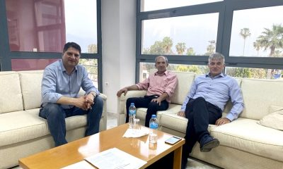 Συνάντηση Αθανασόπουλου με τον πρόεδρο της ΟΕΒΕΣ Μεσσηνίας 3
