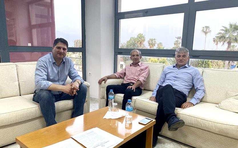 Συνάντηση Αθανασόπουλου με τον πρόεδρο της ΟΕΒΕΣ Μεσσηνίας 1