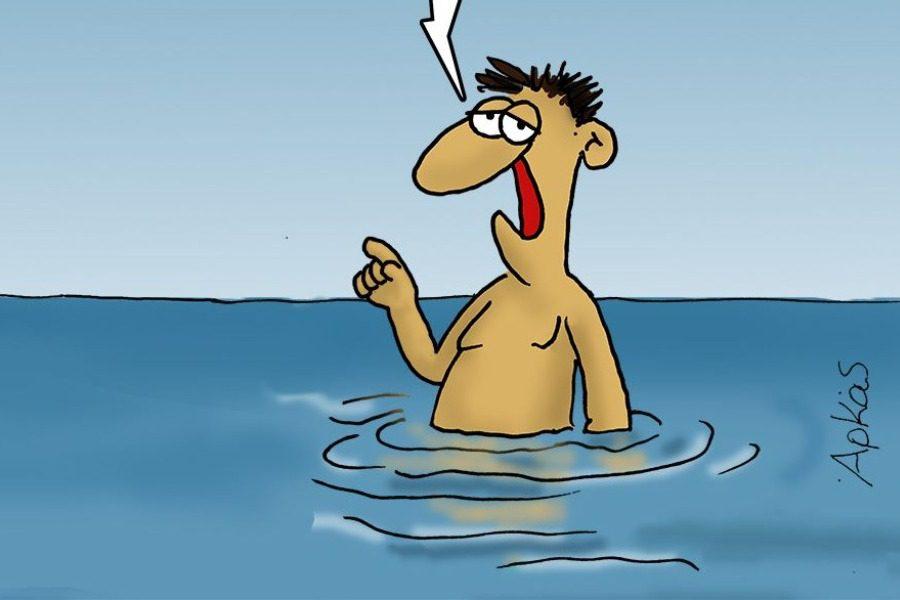 Ο Αρκάς στέλνει «μήνυμα» σε όσους ξεχυθούν στις παραλίες 2