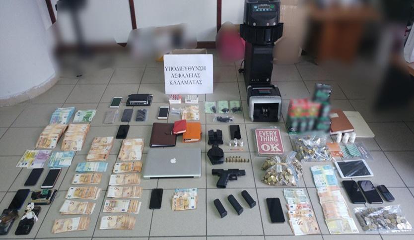 Η ανακοίνωση της ΕΛΑΣ για τους επιχειρηματίες που συνελήφθησαν στην Καλαμάτα 1
