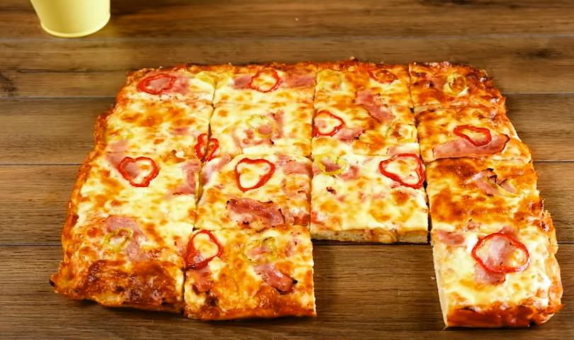 Φτιάξε την πίτσα της τεμπέλας σε χρόνο ρεκόρ 11
