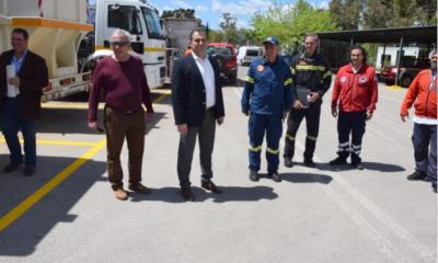 Αναχώρησαν για τους χώρους διασποράς τα πυροσβεστικά του Δήμου Καλαμάτας 8