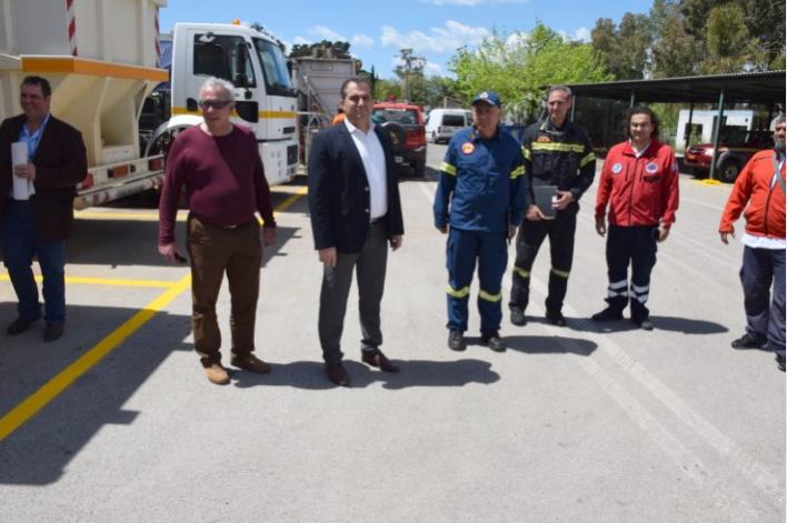 Αναχώρησαν για τους χώρους διασποράς τα πυροσβεστικά του Δήμου Καλαμάτας 1
