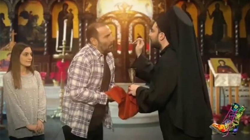 Άσχημα μαντάτα για Αντώνη Κανάκη για βίντεο με τη Θεία Κοινωνία! 5