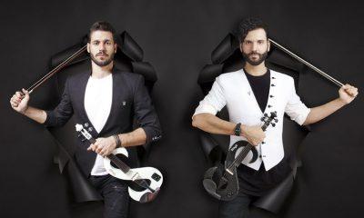 Οι Duo Violins ξεκινούν το μουσικό ταξίδι στις ammothines restaurant 40