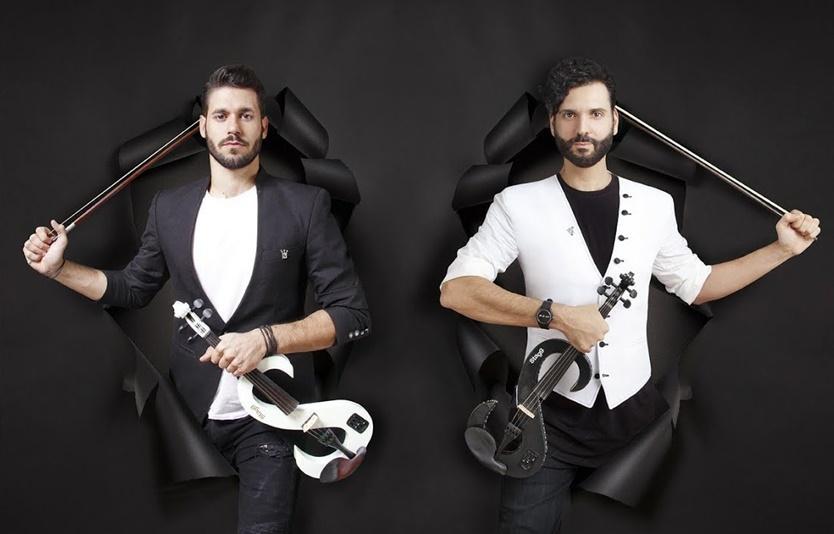 Οι Duo Violins ξεκινούν το μουσικό ταξίδι στις ammothines restaurant 11