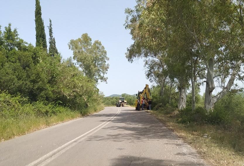 ΠΕ Μεσσηνίας:  Συντήρηση και καθαρισμοί οδών για λόγους αντιπυρικής προστασίας 13