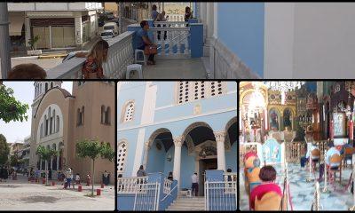 Άνοιξαν οι εκκλησίες στην Καλαμάτα, τηρούνται αυστηρά τα μέτρα προστασίας 3