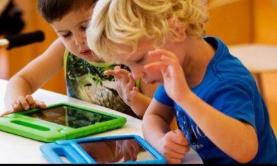 9 στα 10 παιδιά ηλικίας 7- 12 χρονών έχουν τάμπλετ ή smartphone 1
