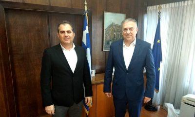 Συνάντηση Δημάρχου με τον Υπ. Εσωτερικών για την επανεκκίνηση της αγοράς μετά την άρση των μέτρων 13