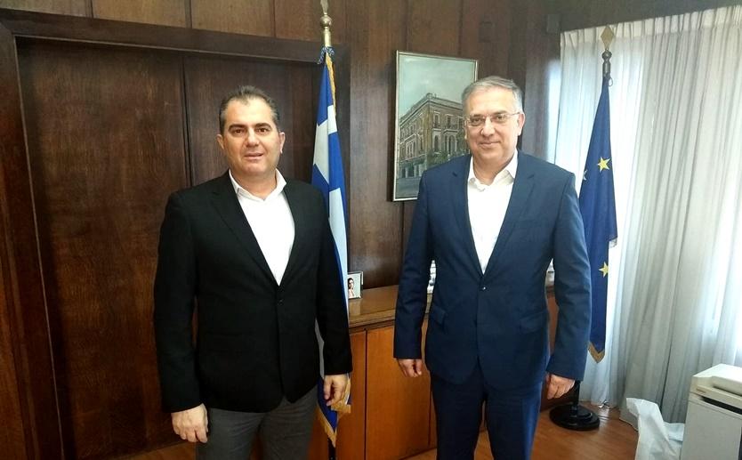 Συνάντηση Δημάρχου με τον Υπ. Εσωτερικών για την επανεκκίνηση της αγοράς μετά την άρση των μέτρων 8