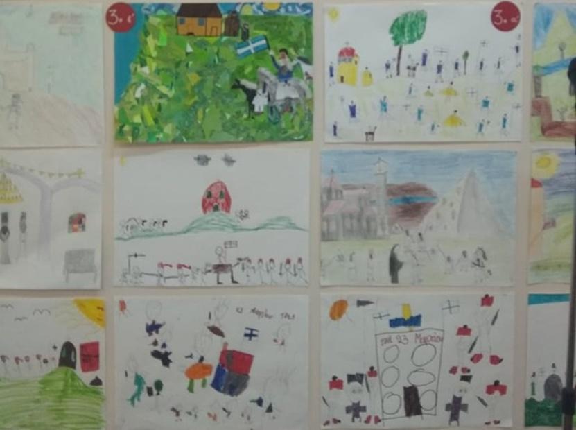 Δυο βραβεία απέσπασε το 13ο δημοτικό σχολειό Καλαμάτας σε διαγωνισμό ζωγραφικής 1