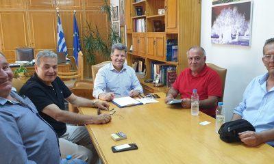 Συνάντηση Αντιπεριφερειάρχη με την Ομοσπονδία Πελοποννησίων Ελλάδος 1