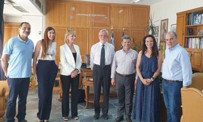 Συνάντηση με τον πρόεδρο Special Olympics Hellas ο Αντιπεριφερειάρχης Μεσσηνίας 5