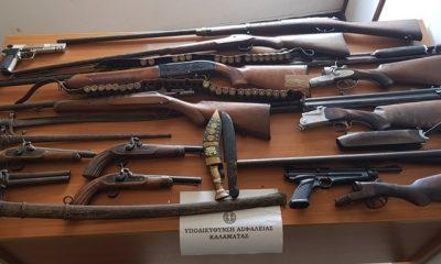Καλαμάτα: 58χρονη διατηρούσε μικρό οπλοστάσιο στο σπίτι της 7