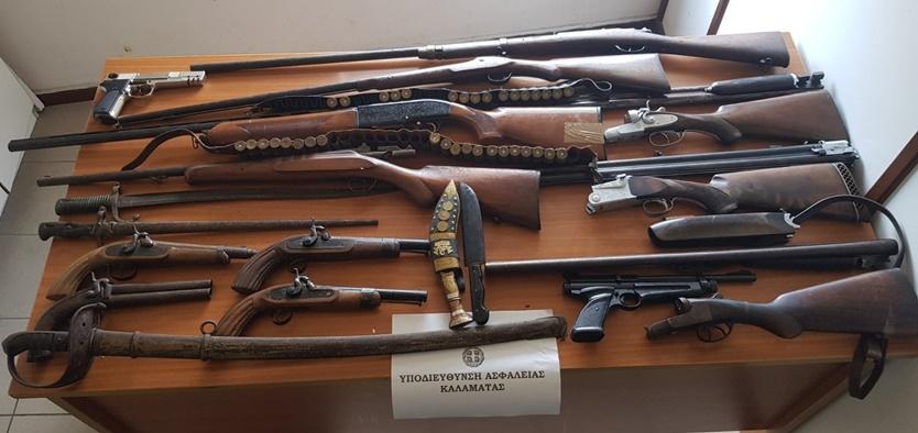 Καλαμάτα: 58χρονη διατηρούσε μικρό οπλοστάσιο στο σπίτι της 3