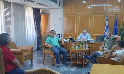 Συνάντηση στην Π.Ε. Μεσσηνίας με τον Σύνδεσμο Καλαμάτας και το Σωματείο Ταξί Μεσσήνης 3