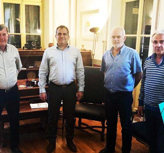 Συνεργασία Μεσσηνιακού ΓΣ - Δήμου Καλαμάτας για την αναβάθμιση των Παπαφλεσείων 1