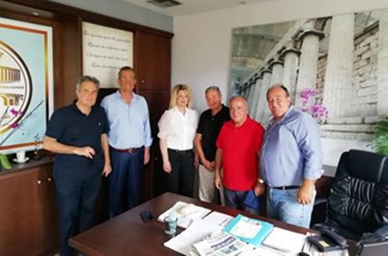 H Ομοσπονδία Πελοποννησίων Ελλάδος στη Δήμαρχο Οιχαλίας για ενέργειες και δράσεις στην περιοχή 1