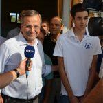 Κώστας Σαμαράς Πρόεδρος της Ενωσης Φοιτητών στο Deree