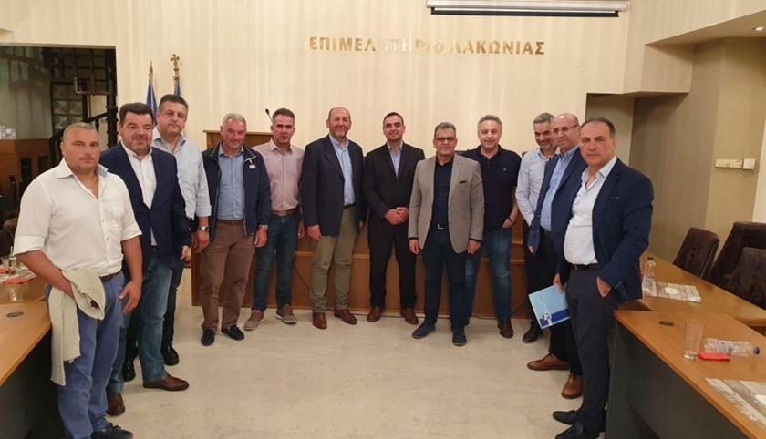 Σύσκεψη ΠΕΣΠ με Νίκα για την επιχειρηματικότητα στην Περιφέρεια Πελοποννήσου 1