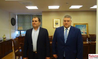Επίσκεψη Χρυσομάλλη στον Δήμαρχο Καλαμάτας και ενημέρωση για τα έργα ανάπτυξης 5