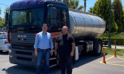 Δήμος Μεσσήνης Υδροφόρα μεταφοράς πόσιμου νερού